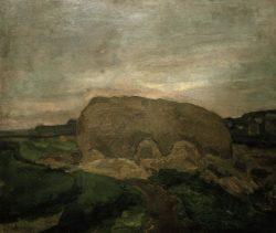 """Piet Mondrian """"Heuschober"""" 66 x 76 cm"""