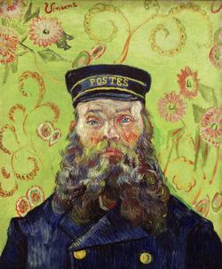"""Vincent van Gogh """"Joseph-Etienne Roulin"""" 66,2 x 55 cm"""
