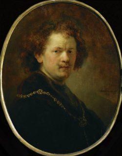 "Rembrandt ""Rembrand-Selbstbildnis"" 60 x 47 cm"