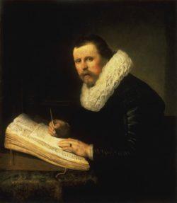 """Rembrandt """"Bildnis-eines-Gelehrten"""" 104.5 x 92 cm"""