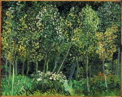 "Vincent van Gogh ""Waeldchen"" 73 x 92 cm"