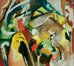 "Wassily Kandinsky ""Improvisation Nr 19a"" 106 x 97 cm"