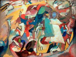 """Wassily Kandinsky """"Allerheiligen"""" 64 x 50 cm"""