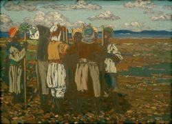 "Wassily Kandinsky ""Arbeitende Neger"" 57 x 41 cm"