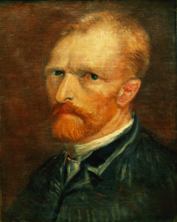"Vincent van Gogh ""Selbstbildnis"" 39,5 x 29,5 cm"