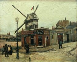 """Vincent van Gogh """"Le Moulin de la Galette"""" 38 x 46,5 cm"""