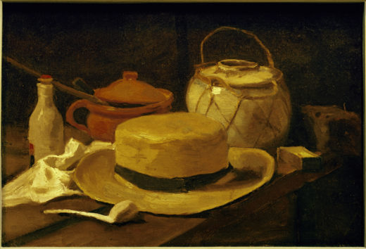 """Vincent van Gogh """"Stilleben mit gelbem Strohhut"""" 36 x 53,5 cm 1"""
