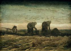 """Vincent van Gogh """"Im Moor"""" 27,5 x 36,5 cm"""