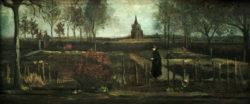 "Vincent van Gogh ""Pfarrgarten"" 25 x 57 cm"