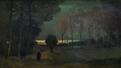 """Vincent van Gogh """"Herbstlandschaft bei Abend"""", 51 x 93 cm"""