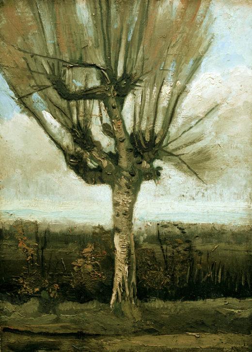 "Vincent van Gogh ""Kopfweide"" 42 x 30 cm 1"