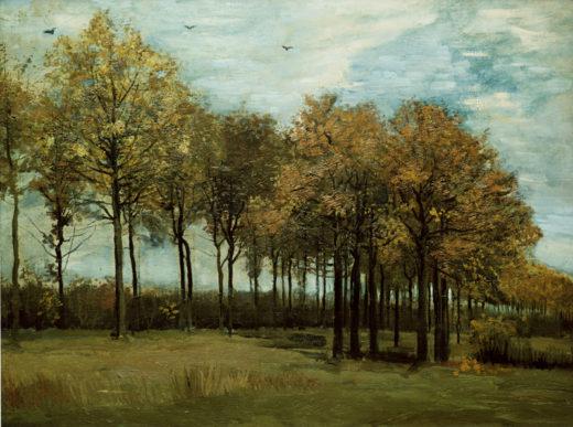 """Vincent van Gogh """"Herbstlandschaft"""" 64,8 x 86,4 cm 1"""