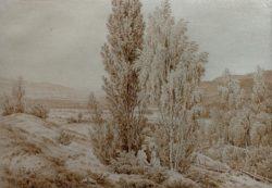 """Caspar David Friedrich """"Der Sommer""""  27 x 19 cm"""