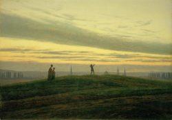 """Caspar David Friedrich """"Der Abendstern""""  43 x 32 cm"""