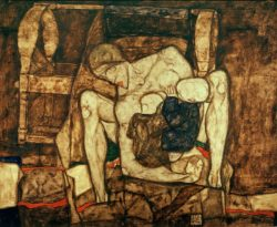 """Egon Schiele """"Blinde Mutter"""" 120 x 99 cm"""