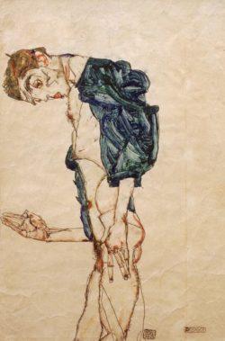 "Egon Schiele ""Prediger"" 31 x 48 cm"