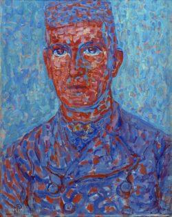 "Piet Mondrian ""Farmer from Zeeland"" 69 x 53 cm"