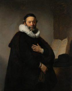 "Rembrandt ""Johannes-Wtenbogaert-Rembrandt"" 130 x 103 cm"