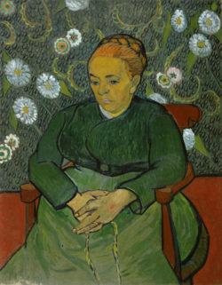 """Vincent van Gogh """"La Berceuse: Mme. Augustine Roulin"""", 91 x 71,5 cm"""