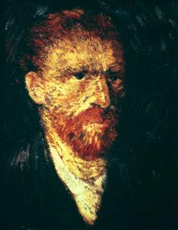 "Vincent van Gogh ""Selbstbildnis"". 46 x 38 cm"