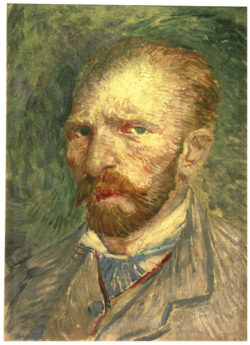 "Vincent van Gogh ""Selbstbildnis"". 32 x 23 cm"