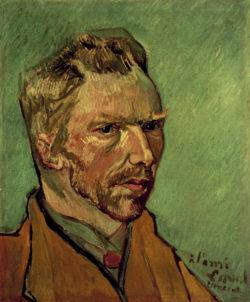 "Vincent van Gogh ""Selbstbildnis"" 46 x 38 cm"