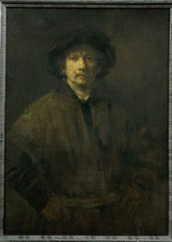"Rembrandt ""Rembrand-Selbstbildnis"" 113 x 81 cm"