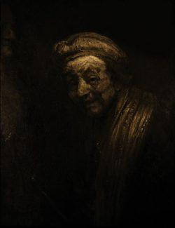 "Rembrandt ""Rembrand-Selbstbildnis"" 82.5 x 65 cm"