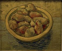 """Vincent van Gogh """"Stilleben mit Kartoffeln in gelber Schuessel"""" 39 x 47 cm"""