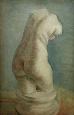 """Vincent van Gogh """"Gipstorso (weiblich) in Rueckenansicht"""". 40,5 x 27 cm"""