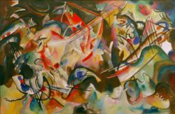 "Wassily Kandinsky ""Komposition"" 300 x 195 cm"