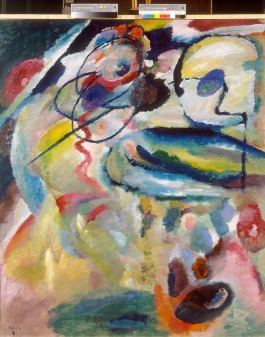"Wassily Kandinsky ""Picture With A Circle"" 111 x 139 cm 1"