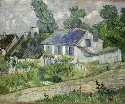 """Vincent van Gogh """"Haeuser in Auvers"""", 60,6 x 73 cm"""
