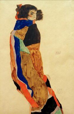 """Egon Schiele """"Moa"""" 32 x 48 cm"""