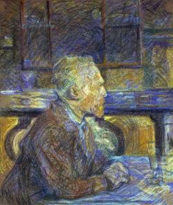 """Vincent van Gogh """"Bildnis Vincent van Gogh"""". 57 x 46,5 cm"""