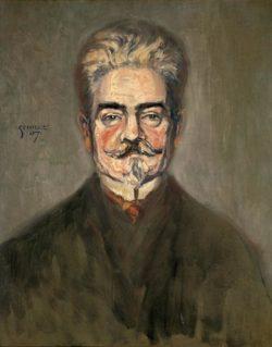 "Egon Schiele ""Bildnis Leopold Czihaczek"" 50 x 63 cm"