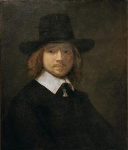 """Rembrandt """"Herrenbildnis"""" 72.7 x 60.5 cm"""