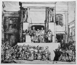 "Rembrandt ""Ecce-Homo"" 35.8 x 45.5 cm"