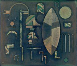 "Wassily Kandinsky ""Graue Reihe"" 69 x 60 cm"