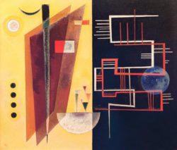 "Wassily Kandinsky ""Innerer Bund"" 66 x 76 cm"