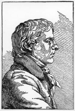 "Caspar David Friedrich ""Selbstbildnis""  89 x 134 cm"