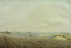 """Caspar David Friedrich """"Ostsee bei Rügen""""  36 x 24 cm"""