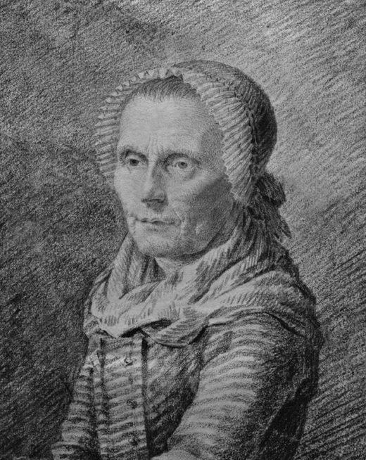 "Caspar David Friedrich ""Bildnis der Mutter Heiden""  19 x 23 cm 1"