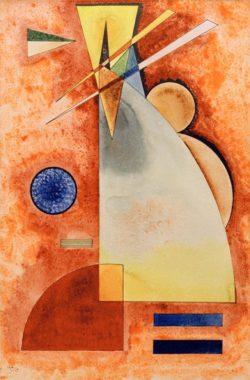 "Wassily Kandinsky ""Ineinander"" 32 x 48 cm"