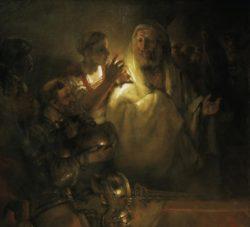 "Rembrandt ""Peter-Denies-Christ"" 154 x 169 cm"