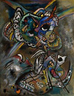 """Wassily Kandinsky """"Dämmerung"""" 69 x 91 cm"""