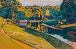 "Wassily Kandinsky ""Der Herbst"" 31 x 20 cm"