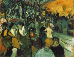 """Vincent van Gogh """"Die Arena in Arles"""". 73 x 92 cm"""