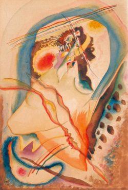 "Wassily Kandinsky ""Abstrakte Komposition"" 22 x 33 cm"