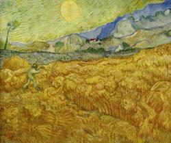 """Vincent van Gogh """"Die Ernte"""", 59,5 x 72,5 cm"""